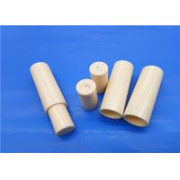 Quality High Strength 99% Al2o3 Alumina Ceramic Plunger Pump / Piston Sleeve Hydraulic for sale