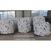 Buy cheap Galvanized steel wire for fishing /net /cage/trap 18gauge 19 gauge 1.18mm 1.06mm factory from wholesalers