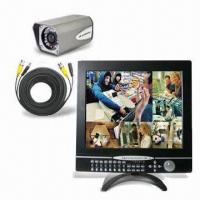 Wholesale All-in-one 4CH 17-inch LCD DVR, Support DDNS and Multiple OSD Languages from china suppliers