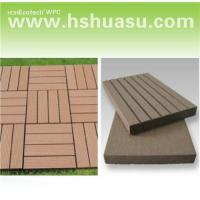 Wholesale Wpc decking tile/DIY tile/outdoor flooring 30S30 from china suppliers