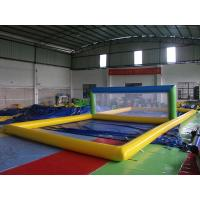 Wholesale Enjoyable Inflatable Sports Games , Inflatable Beach Volleyball Court from china suppliers