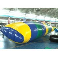 Quality Great Fun Large Inflatable Water Toys , 0.9mm PVC Inflatable Water Blob for sale