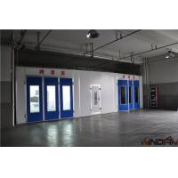 Wholesale 5.5KW Direct Drive Motor , Without Ramp Side Draft Paint Booth WD-100I from china suppliers