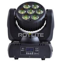 Wholesale 7pcs Ostar Multi RGBW LED Beam Moving Head 6° Quiet Pro Lights With Big Lens from china suppliers