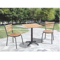 china factory price outdoor patio furniture wood garden set C603+T808 for sale