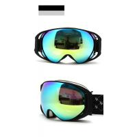 Wholesale Brown Revo Gold Lens Mirrored Ski Goggles / Womens Snowboarding Goggles from china suppliers