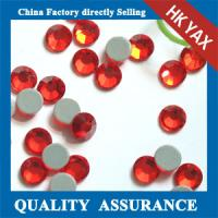 China China Hotfix Swainstone-Lt.Siam SS6 for Bags Iron On Crystal Beads Wholesale Crystal Beads Iron On Beads on sale