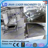 Wholesale Big capacity fried wheat flour snacks process line from china suppliers