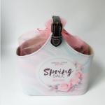 China PU Leather Bath Spa Storage Basket Spa Gift Baskets for Bathroom Hotel Adult Body Nature Bath Body Works for sale