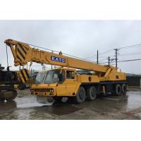 China 2007 Year 40T Used Truck Crane KATO NK400E 40T for Construction / Building on sale
