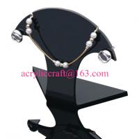 Acrylic Necklace Display , Perspex Necklace Holders, Plexiglass Necklace Display Stand for sale
