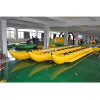 Wholesale Heavy Duty Commercial 8 Person or Customzied PVC Tarpaulin Inflatable Banana Boat Tube from china suppliers