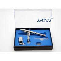 Wholesale 7cc Cup Dual Action Airbrush 0.3 Nozzle Silver Color Model Decoration Tattoo Makeup from china suppliers