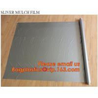 Wholesale PE High Quality plastic biodegradable agricultural mulch film, short lead time pe perforated agricultural mulch plastic from china suppliers