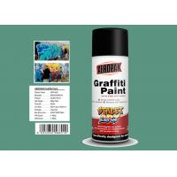 Wholesale Apple Green Color Graffiti Spray Paint 400ml Filled With MSDS Certificate from china suppliers