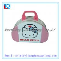 Wholesale gift lunch tin box with handle from china suppliers