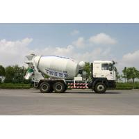 China 8 / 9 / 10 Cubic Self Loading Concrete Mixing Truck Shanxi Auto (6*4) on sale