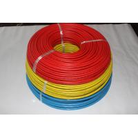 Multi Core 22 Awg Teflon Coated Wire , ETFE Insulation Teflon Heating Wire for sale