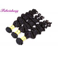 Buy cheap 8-30 Inch Peruvian Black Deep Weave 100g HumanHair Extension For Black Women from wholesalers
