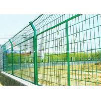Wholesale Easy Assembly Green Wire Mesh Fencing , High Security Wire Mesh Security Fencing from china suppliers