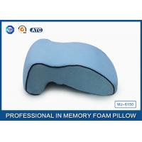 Quality Office Massage Nap Memory Foam Sleep Pillow In Curved Bridge Design for sale
