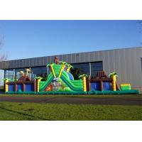 Wholesale Giant Inflatable Combination Obstacle Course Bouncy Castles Playground from china suppliers