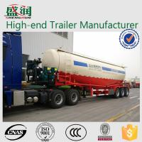 Buy cheap SHENGRUN 70 Ton Bulk Cement Powder Transport Semi Trailer With FUWA Axle from wholesalers