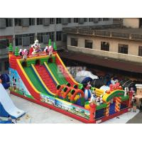 Wholesale Kids Inflatable Playground / Mickey Cartoon Inflatable Amusement Park from china suppliers