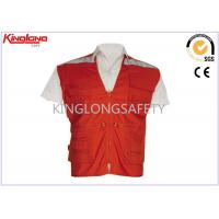 Wholesale Polyester Traffic EN20471 Custom High Visibility Vest Class 2 Safety Vest from china suppliers