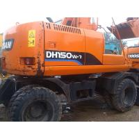 Wholesale USED DOOSAN DH150W-7 WHEEL EXCAVATOR SALE DOOSAN DH150W-7 SALE from china suppliers