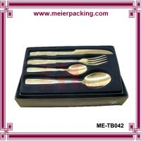 Wholesale Paper Box for Stainless Steel Flatware 4PCS Packaging Box Knives Forks Spoon ME-TB042 from china suppliers