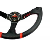Wholesale 14 Inch Soft Touch Race Car Steering Wheel With Ergonomic Structure Design from china suppliers