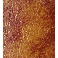 Wholesale Thickness 0.65mm PVC Synthetic Leather Embossed Pattern Abrasion Resistance from china suppliers