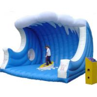 Wholesale Customized Inflatable Sports Toys , Inflatable Mat with Mechanical Surfboard from china suppliers
