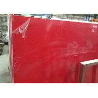Wholesale Red Galaxy Quartz Man Made Stone , Artificial Quartz Stone 160 X 320 Cm Size from china suppliers