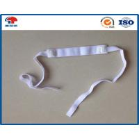 Wholesale Custom Elastic Hook And Loop Strap , white 6 Inch hook and loop band for Personal care from china suppliers