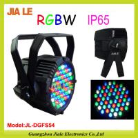 Buy cheap Ce & RoHs approval 54pcs 180W RGBW Waterproof IP65 Outdoor LED Par Light from wholesalers