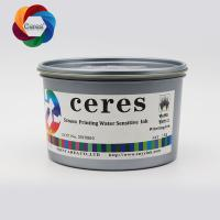 Screen Printing Water Sensitive Ink , Water Base ,White Color Water Sensitive Ink for sale