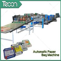 Wholesale 4 Color Printing Cement Paper Bag Making Machine For Chemical with External Reinforcement from china suppliers