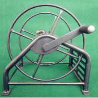 Wholesale Heavy Duty Metal Garden Hose Reel With Folding Free Wheeling Crank Handle from china suppliers