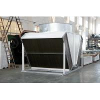 China tube fin adiabatic air cooled condensers dry coolers for airport on sale