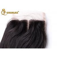 Wholesale 5A Virgin Middle Part Lace Closure 100% Brazilian Hair Closures from china suppliers