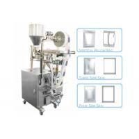 Wholesale 50 - 500g Granule Pillow Bag Sealing Sachet Packing Machine For Seeds / Fry Foods from china suppliers