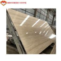 Wholesale Natural Stone Travertine Beige Marble Slab 15-30mm Thickness Standard Size from china suppliers