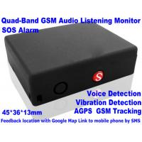 Wholesale Global Indoor Outdoor GSM LBS Tracker Spy Audio Listening Bug W/ SOS Alarm & 2-Way Calling from china suppliers