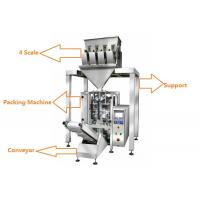Wholesale 1KG Sugar / 1KG Rice Grain Packing Machine With 4 Linear Weigher from china suppliers