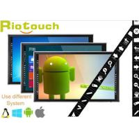 China IR 55, 65, 70, 84 high resolution led TV built-in one PC With education software on sale