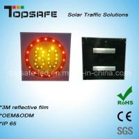 Buy cheap Aluminum Flashing Solar LED Traffic Speed-Limited Sign LED Display from wholesalers