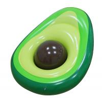 Wholesale Outdoor Inflatable Avocado Pool Floats Lounge With Beach Ball from china suppliers