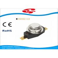 Wholesale Automatic Reset 3/4' Bimetal Disc Thermostat KSD302-113 with UL VED certificate from china suppliers